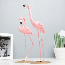 New Resin Flamingo Nordic style Room Decor Flamingo Scandiniavian Decor For Girl Room Nice Resin Flamingo Decor For Room Desk