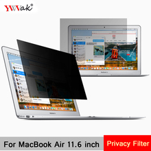 For Apple MacBook Air 11.6 inch (256mm*144mm) Privacy Filter Laptop