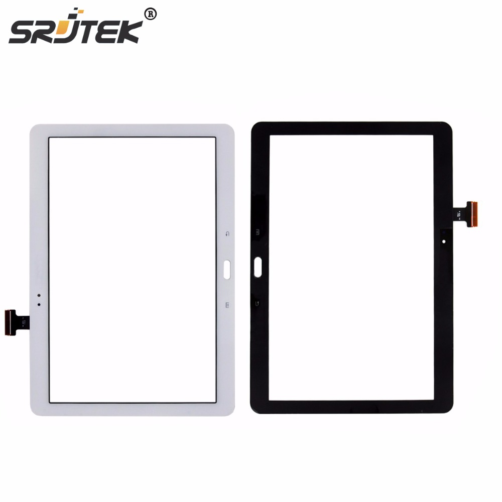 купить Srjtek 10.1 For Samsung Galaxy Note 10.1 SM-P600 P600 P601 P605 Touch Screen Digitizer Glass Panel Sensor Tablet PC Replacement дешево
