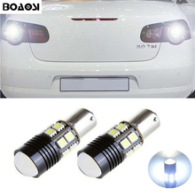 цена на 1pcs Car 1156 BA15S P21W LED CREE Chip 360 degree Reverse Lights Bulbs for VW Passat B1 B2 B4 B3 B5 B6 T4 T5 touran polo jetta
