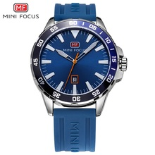 цены на Minifocus 30M Waterproof 2017 Sports Quartz Watch Top Fashion Luxury Silicone Men Watches Clock Montre Homme Relogio Masculino  в интернет-магазинах