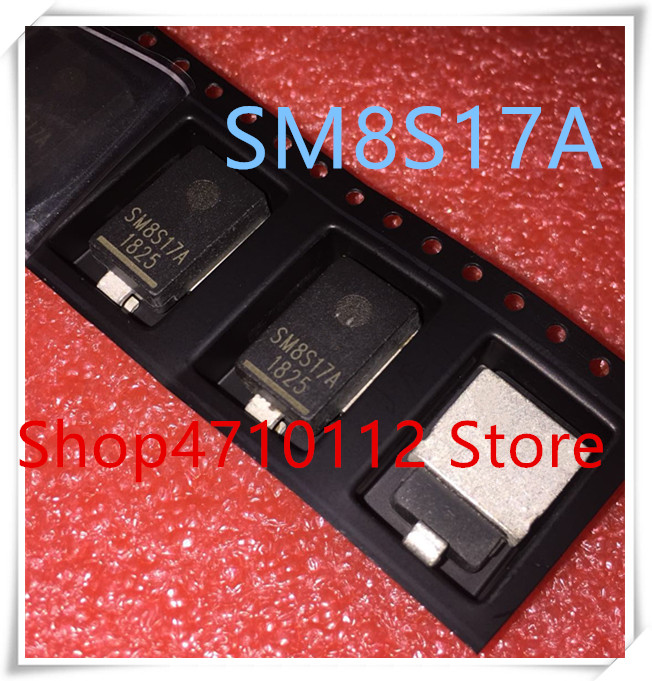 NEW 10PCS/LOT SM8S17A DO-218AB SM8S17 SM8S17AHE3/2D IC
