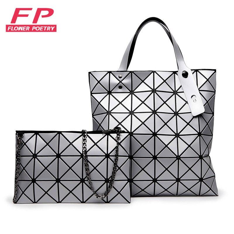 venta caliente bao bao issey bolsa geomtrica diamond lattice seoras bolso de la manera bolso de