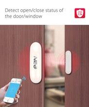 WiFi Door Sensor Window Smart wireless window magnetic sensor Workes with Alexa Echo and google home security