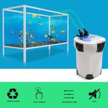 3000L/h SUNSUN HW-3000 ЖК-дисплей Дисплей 4-этап аквариум внешний корпусный фильтр с 9 W УФ стерилизатор для аквариума до 300-750L