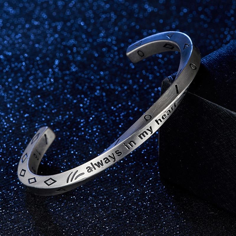 Bracelet Minimaliste acier inoxydable rétro Viking  3