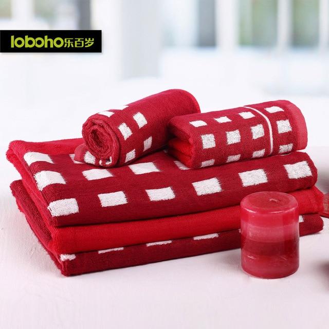 Centenarian wedding supplies wedding towel bath towel ceremonized bamboo fibre bath towel marriage