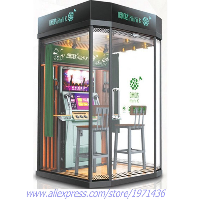 US $8500 0 |Mini K Mobile KTV House Box Karaoke Player Practise Sing Song  jukebox Coin Operated Music Video Simulator Game Machine For Bars-in Coin