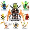 NinjagoeINGlys Дракон Супергероя Juguetes Фигурку Строительные Блоки Детские Развивающие Игрушки Набор Совместимо с legoeINGlys 748