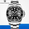 2020 PAGANI дизайнерские брендовые автоматические механические мужские часы спортивные 100 м водонепроницаемые спортивные мужские сапфировые н...