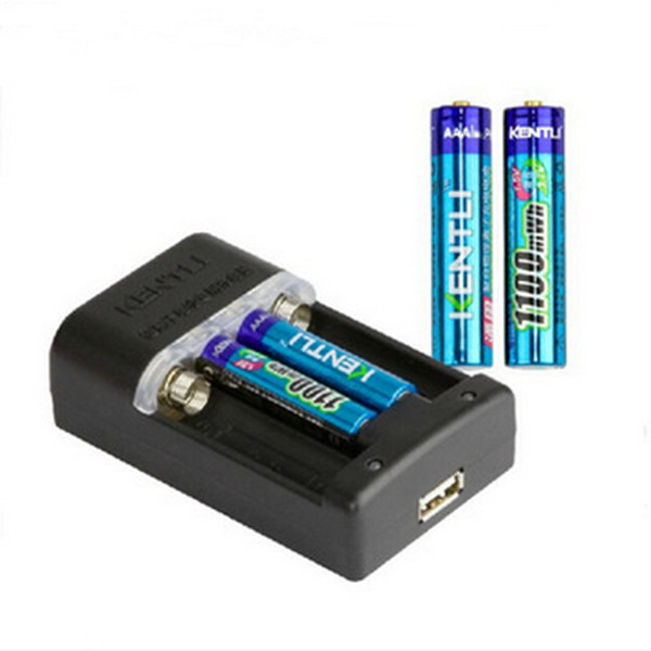 4pcs/lot KENTLI 1.5v AAA PH7 1100mWh Rechargeable Li-ion Li-polymer Lithium battery + aa aaa charger сверло hammer flex 202 125 dr mt 13 0мм 151 101мм металл din338 hss g tin