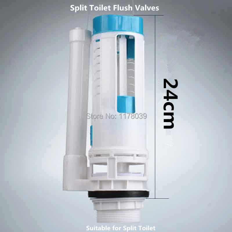 24cm Split Toilet drain Valves,Split Toilet water tank Flush drain Valves,toilet water tank parts,J17433
