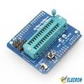Elecrow Alta Qualidade Escudo para Arduino AVR ISP Usado para Baixar Queima Bootloader ATmega328P AVR Programador ISP Escudo Kit DIY