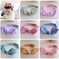 10 colores haarband Headwraps bebé pelo del bebé venda del pelo accesorios empresa bufanda con capucha