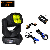 Hot Selling Sample One Piece LED Super Beam Moving Head Light 4x25W DJ Equipment Small Moving