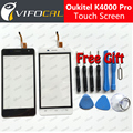 Oukitel K4000 Pro touch screen + Tools Set Gift 100% Original Digitizer glass panel Assembly Replacement for cell phone