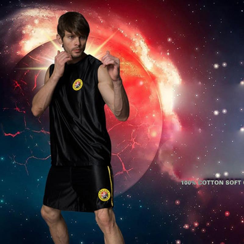 Veshje Sanda Breathable Wushu Boxing Suit Rroba të rehatshme Burra - Veshje sportive dhe aksesorë sportive - Foto 2