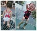 Pieza del traje de baño Del Diablo Del Ángel Del Diablo Del Ángel del bebé de la nadada del muchacho traje