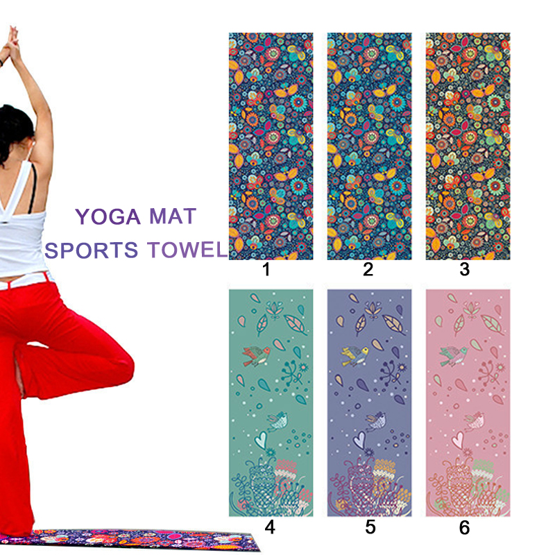 Sleep Baby's Store 3D High Quality Digital Print mat Blanket Bohemia Tapestry Beach Towel Yoga Mat Towel Microfiber Non slip sweat absorption