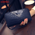 Women Wallets female long section of the new zipper women's purse fashion wallet Alligator handbags card hand Lady's bag phone