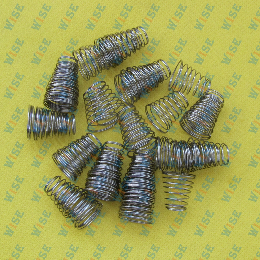 50PCS stainless steel Conical Taper Spring #RS-C-696-1  for TAJIMA