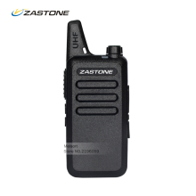 Zastone ZT-X6 UHF Mini Handheld Two Way Radio Communicator Long Range Walkie Talkies for Kids HF Transceiver Frequency Portable