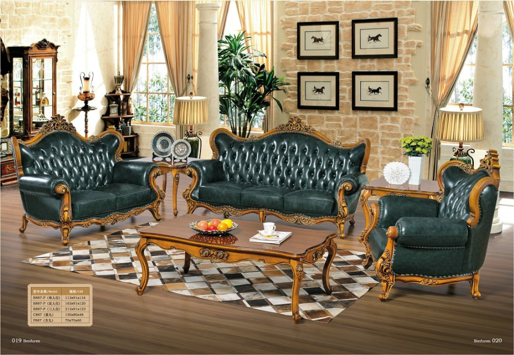 2016 Sectional Sofa Chaise Offer European Style Set No Bean Bag Chair Bolsa Muebles Luxurious Aviator Antique Italian Leather 2016 bean bag chair special offer european style three seat modern no fabric muebles sofas for living room functional sofa beds