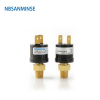 NBSANMINSE SMF08 Small Multi Purpose Pressure Switch Fixed Set Point Automatic Reset Factory Calibrated Pressure Switches