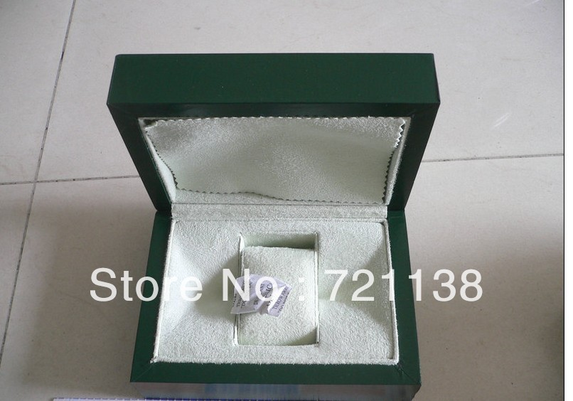 high quality watch box and paper Certificate free shipping every country
