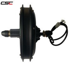 CSC electric bike 48V 1000W Brushless Non-gear Hub Motor E-bike Front Rear Drive bicycle Motor Wheel(China)