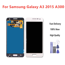 5.5 LCD For Samsung Galaxy A3 2015 A300 A3000 A300F A300M Display + Touch Screen Assembly brightness Can adjust+Tools