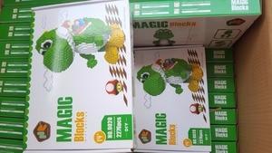 Image 3 - HC магические блоки с оригинальной коробкой, большие размеры, строительные блоки, аниме Модели, кирпичи, Мультяшные стежки, фигурки, игрушки, детские подарки