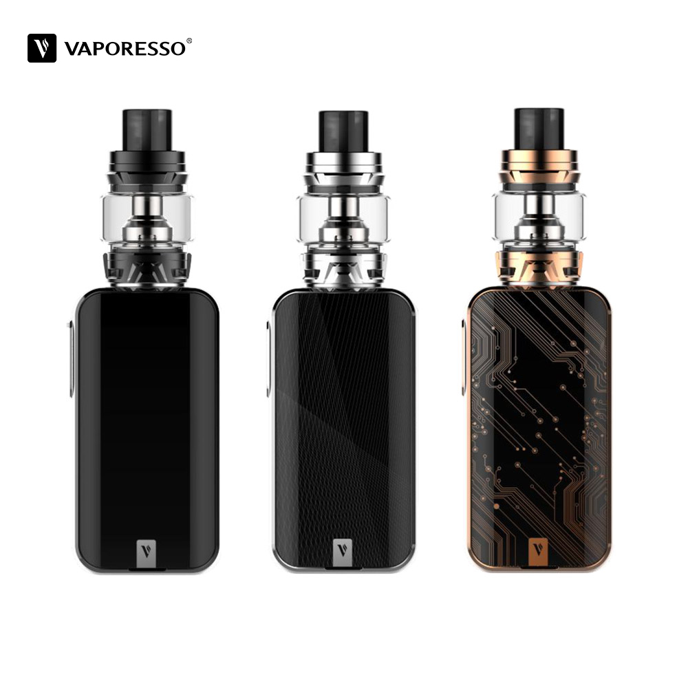 LUXE-S d'origine Vaporesso avec Kit de réservoir de SKRR-S Cigarette électronique avec 220 W Vape Box Mod 8 ml atomiseur VS Vaporesso revenger - 2
