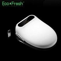 Ecofresh inteligente assento do toalete assento bidé elétrico cobertura de calor do assento do toalete luz led inteligente cobertura auto|Assentos sanitários| |  -