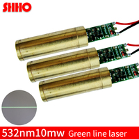 High Stable 532nm 10mw Green Line Laser Module Industrial Grade Green Laser Positioning Laser Marking Vehicular