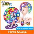 80 UNIDS magnética bloques de construcción Modelo juguetes del bebé y Juguetes de Construcción Ladrillo diseñador Aclare Ladrillos magnética juguetes kits de edificio modelo