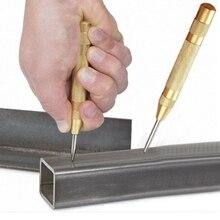 5 дюймов автоматический центр пробойником Пружинные маркировки инструмент пусковых отверстий дерева Пресс вмятин маркер по дереву инструмент сверла по металлу