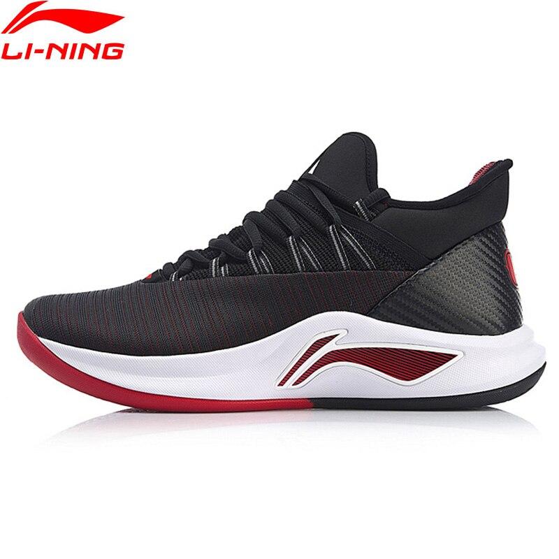 Li-Ning Homens VELOCIDADE V Tênis de Basquete Profissional Jawun Evans Almofada Forro NUVEM Bounce Sapatas Do Esporte Das Sapatilhas ABAN051 XYL198