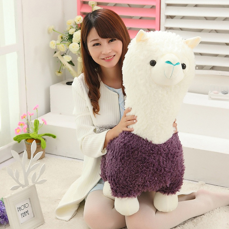 Kawaii Sheep Alpaca Dolls Plush Toys Stuffed Llama Yamma Pillow Soft Cushion Favorite Kids Toys Birthday Christmas Gifts F061 kawaii alpaca vicugna pacos plush toy japanese soft plush alpacasso baby kids plush stuffed animals alpaca gifts