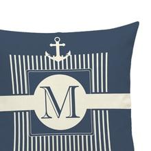 Cotton Linen Throw Anchor Pillow Case Cover Bed Decorative Cushion Home Office Pillowcase Marine Culture Pillowslip