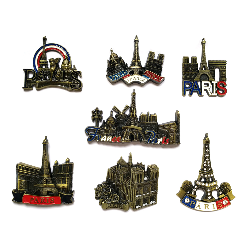 3D Paris Tower Fridge Magnet