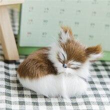 Plush Doll Toy Simulation Animal Fox Plush Jing Toy 1 Piece