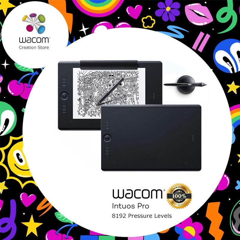 Wacom Intuos Pro PTH-660 Standard/édition papier multi-touch tablette numérique dessin tablettes 8192 niveau de pression