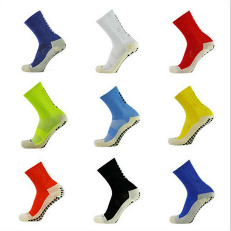 GLCO High Quality Brand New Anti Slip Soccer Socks Cotton Football Socks Men Cycling Socks Size39-46