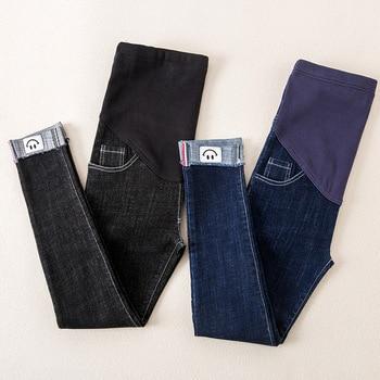 dedf72289 Enfermería de maternidad pantalones para mujeres embarazadas ropa embarazo  Jeans gestantes pantalones maternidad ropa otoño