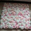 10 шт./лот Искусственные шелковые розы и гортензии свадебный цветок фоне стены украшения Арки цветок дорога свинец цветок украшения