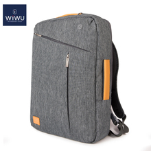 WIWU 2019 Laptop Backpack 17.3 15.6 15.4 14 Canvas Waterproof  for Macbook Pro 15 Multi-design Bag