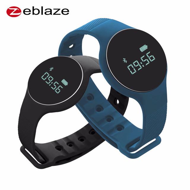 NUEVA Llegada Zeblaze Zeband 2 Pulsera Inteligente de Ritmo Cardíaco de 0.68 Pulgadas OLED Bluetooth 4.0 Inteligente Pulsera