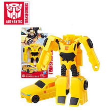2019 11.5cm Transformers Toys Brave Autobot Bumblebee Action Figure Grimlock Optimus Prime Megatron Starscream Collectible Model(China)