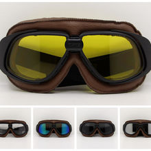Motorcross Sunglasses Vintage Motorcycle Helmet Goggles Scoo